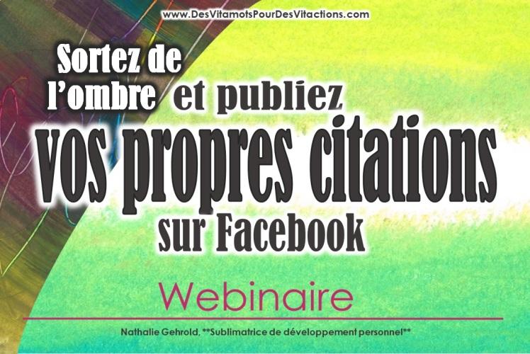 Affiche webinaire - Publiez vos propres citatioins FB 3