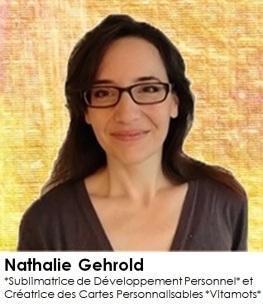 Nathalie Gehrold - Sublimatrice de Dvpt Perso
