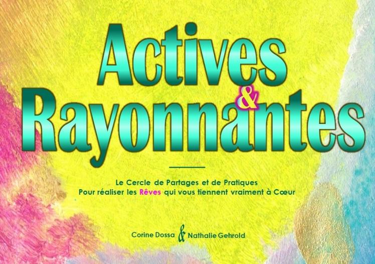 Actives et Rayonnantes - Visuel Rectangulaire 1