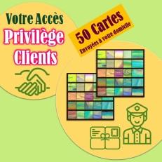 Visuel carré - Privilège Clients